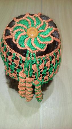Ажурные повязки на голову ручной работы на заказ