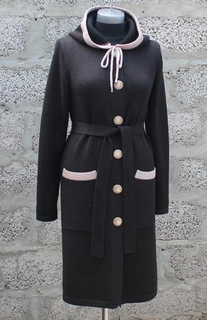 Кардиган-пальто ручной работы на заказ