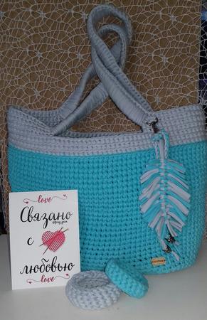 Пляжная сумка ручной работы на заказ