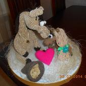 Влюбленные лошадки