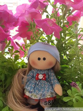 Кукла-брелок ручной работы на заказ