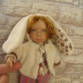 Будуарная кукла Зайка моя