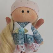 Кукла-брелок ручной работы