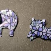 Мини-броши из полимерной глины