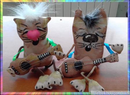 Поющие коты ручной работы на заказ