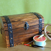 фото: деревянный сундук купить