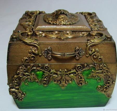 Шкатулка для ювелирных украшений ручной работы на заказ