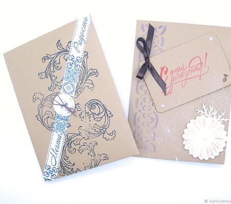 Подарочный конверт ручной работы на заказ