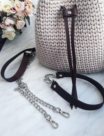 Женская сумка-торба ручной работы на заказ
