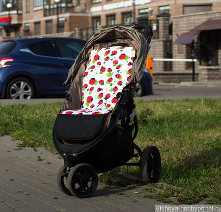 Матрасик для коляски valco baby snap ручной работы на заказ