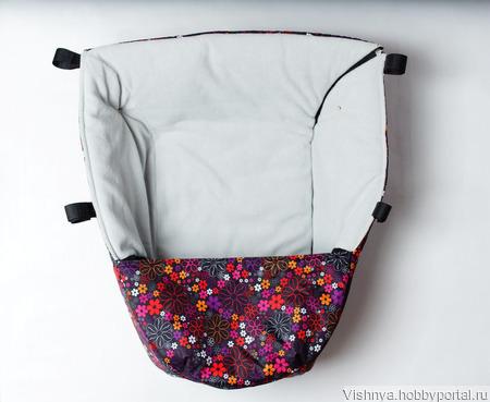 Накидка на ножки для коляски Valco Baby Snap ручной работы на заказ