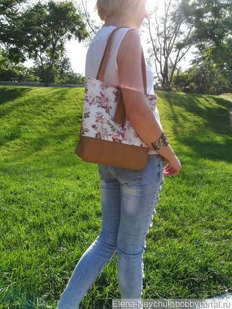Сумка женская летняя повседневная на плечо ручной работы на заказ