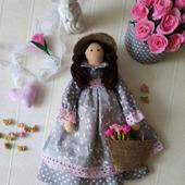Текстильная кукла Зоя