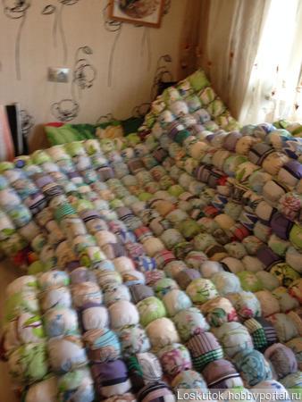 """Одеяло """"Бом Бон"""" ручной работы на заказ"""