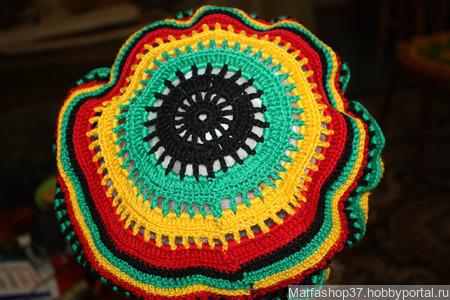 Растаманская шапка ручной работы на заказ