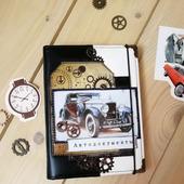 Обложка на паспорт и автодокументы ручной работы