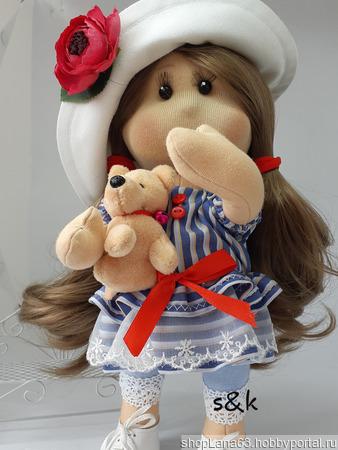 Кукла текстильная ручной работы ручной работы на заказ