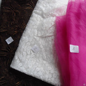 Гипюр и органза винтажный