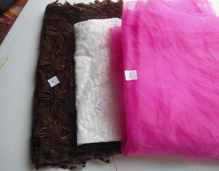 Гипюр и органза винтажный ручной работы на заказ