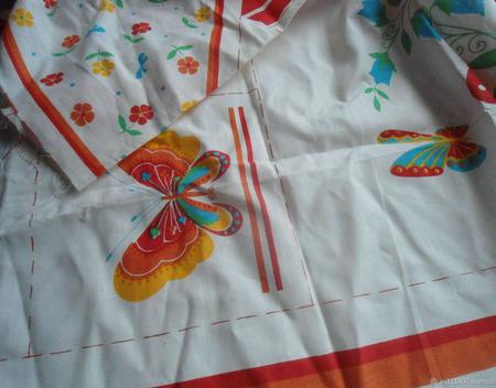 Купон ткани 2 ручной работы на заказ