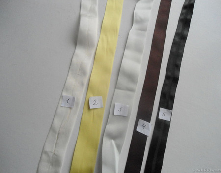 Тесьма  репсовая винтажная 2 ручной работы на заказ