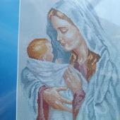 "Набор для вышивания ""Мария с младенцем"""