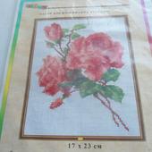 """Набор для вышивания крестом """"Розы"""""""
