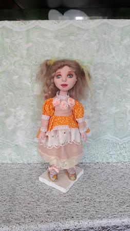 Кукла Наташа ручной работы на заказ