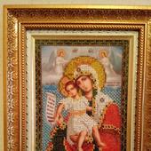 Икона Богородица Милующая