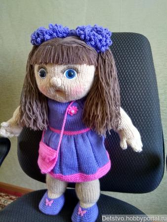 Кукла Цветочек ручной работы на заказ