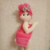 Интерьерная кукла, декор для ванной комнаты