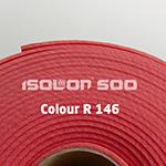 Изолон ППЭ. R146 черешня 2 мм ручной работы на заказ