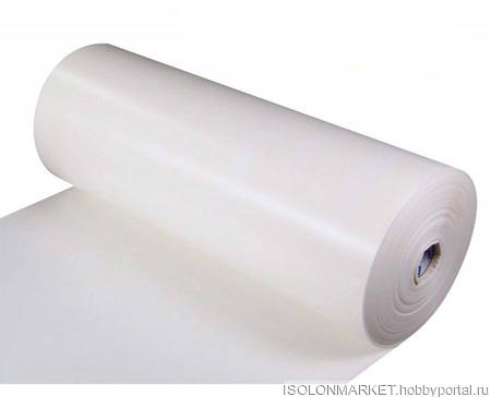 Изолон  ППЭ белый 2мм ручной работы на заказ