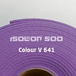Изолон ППЭ V641 фиолетовый 2мм ручной работы на заказ