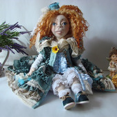 Скульптурно-текстильная кукла