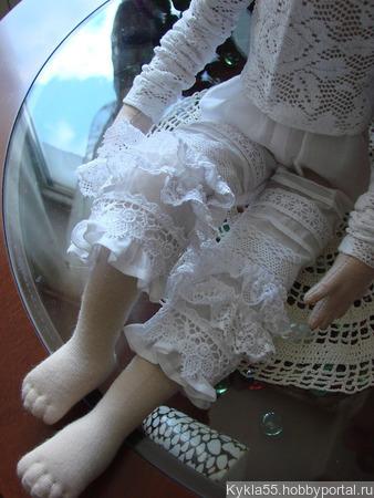 Скульптурно-текстильная кукла ручной работы на заказ