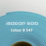 Изолон ППЭ. B 547 голубой 2 мм ручной работы на заказ