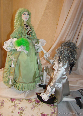 Куклы в историческом костюме ручной работы на заказ