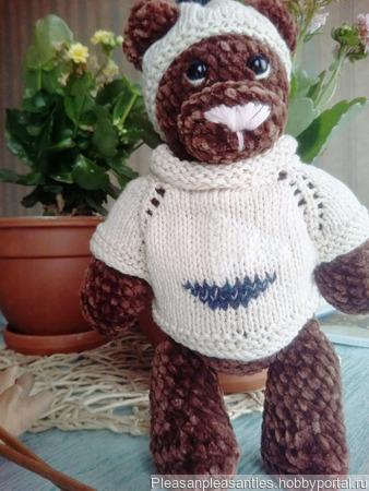 Медвежонок Матвей ручной работы на заказ