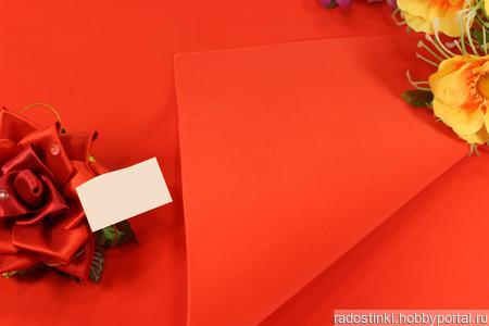 Фоамиран EVA зефирный (Китай) ручной работы на заказ