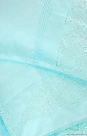 Постельное белье с кружевом ручной работы на заказ