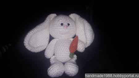 Кролик с морковкой ручной работы на заказ