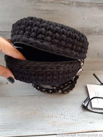 Вязаная сумка ручной работы на заказ