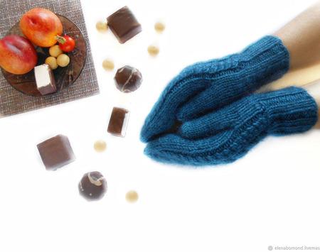 Варежки зимние ручной работы на заказ