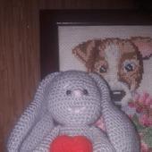 Кролик с сердечком
