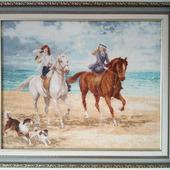 фото: Картины и панно (лошади)