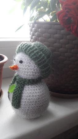 Снеговик ручной работы на заказ