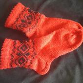 Носки с орнаментом