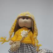 Кукла текстильная 17 см