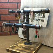 Подставка для часов, украшений и бижутерии в стиле Лофт